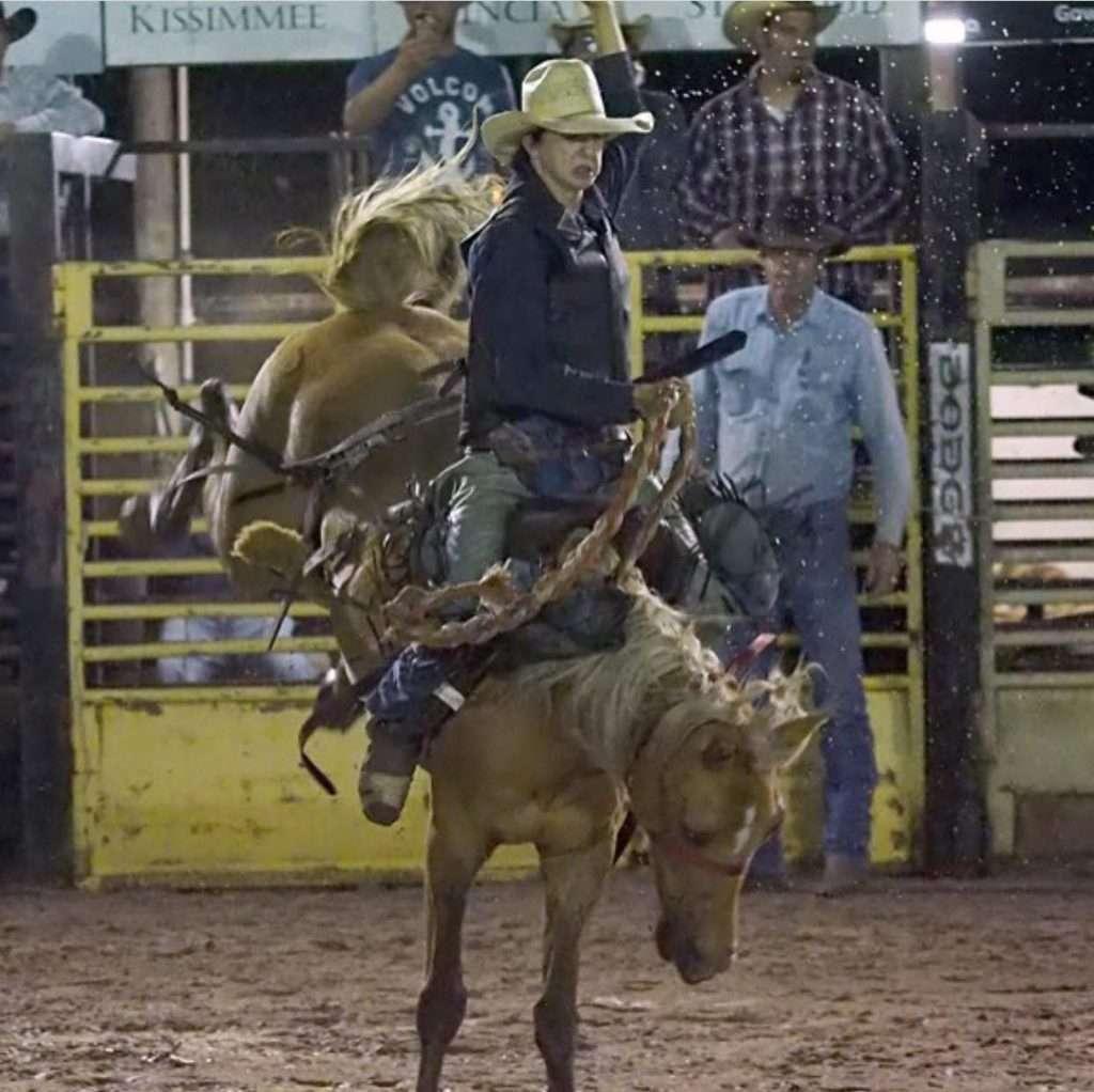 suhls rodeo bronco riding