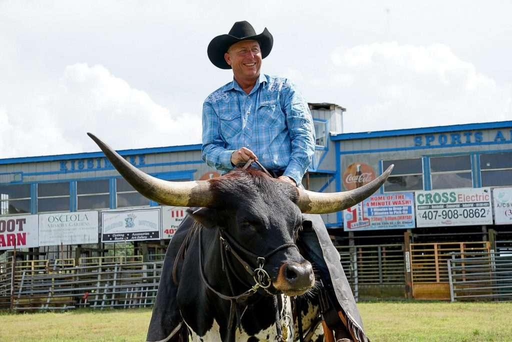 suhls rodeo smiling cowboy